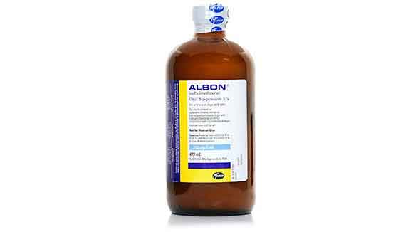 Albon Liquid Bottle