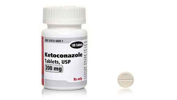 Ketoconazole Bottle - Tablets