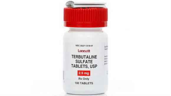 Terbutaline Bottle - Tablets