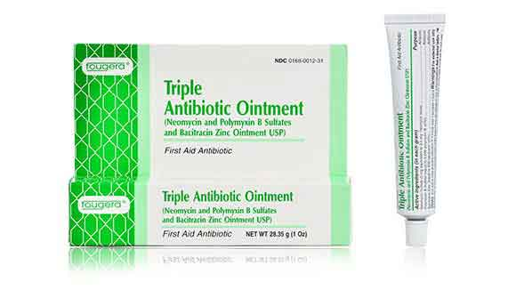 Triple Antibiotic Ointment First Aid For Wounds For Pets