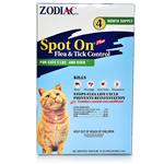 Zodiac Spot On Plus - Flea and Tick Control for Cats and Kittens