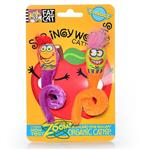 Fat Cat Springy Worms Catnip Toy - 2 pk.