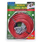 Titan Aerial Dog Run - 75 Feet