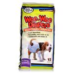 Wee-Wee Disposable Diapers - 12 ct.