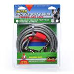 15Ft Cable Tieout Super - Silver