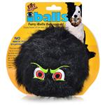 Tuffy's Silly Squeakers- Iballs Black Medium Chew Toy