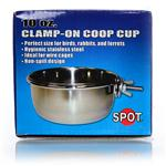 Steel Coop Cup W/Clamp 10Oz