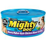 Mighty Dog Hearty Pulled-Style Chicken Dinner in Gravy Canned Dog Food