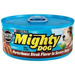 Mighty Dog Porterhouse Steak Flavor in Savory Sauce Canned Dog Food
