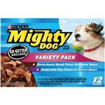 Mighty Dog Go-Getter Grillers Variety Pack Canned Dog Food
