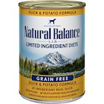 Natural Balance L.I.D Limited Ingredient Diets Duck and Potato Canned Dog Formula