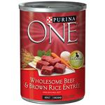 Purina ONE - Beef and Brown Rice Entre Canned Dog Food