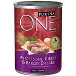 Purina ONE - Turkey and Barley Canned Dog Food