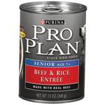 Purina Pro Plan - Beef and Rice Canned Food for Senior Dogs