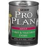 Purina Pro Plan Canned Turkey and Vegetables for Adult Dogs