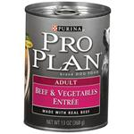 Purina Pro Plan Canned Beef and Vegetables for Adult Dogs