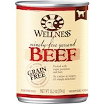 Wellness Canned Dog Food for Adult Dogs 95% Beef