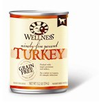 Wellness Canned Dog Food for Adult Dogs 95% Turkey
