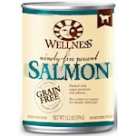 Wellness Canned Dog Food for Adult 95% Salmon