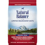 Natural Balance L.I.D. (Limited Ingredients Diets) Sweet Potato and Bison Dry Dog Food
