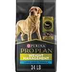 Purina Pro Plan Extra Care Weight Management Dry Dog Food for Large Dog Breeds