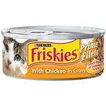 Friskies Canned Prime Filet Chicken & Gravy for Cats