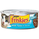 Friskies Classic Pate Flaked Tuna for Cats