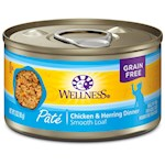 Wellness Canned Cat Food Chicken & Herring Recipe