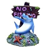 Br Cool Shark No Fishing Sign
