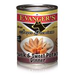 Evanger's Duck/Sweet Potato Gold Dog 12/13.2Oz Cans