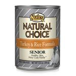 Nutro Natural Choice Senior Dog Turkey/Rice