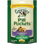 Greenies Pill Pockets Allergy Formula Duck & Pea for Dogs