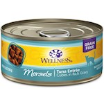 Wellness Cubed Tuna Entree Canned Cat Food