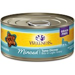 Wellness Minced Tuna Dinner Canned Cat Food