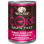 Wellness CORE Grain Free Turkey, Pork Liver & Duck Formula Canned Dog Food