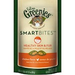 Greenies Feline Smart Bites Healthy Skin and Fur