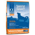 Natural Balance Alpha Trout, Salmon Meal & Whitefish Dry Dog Formula