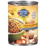 Nature's Recipe Dog Food Easy to Digest Chicken, Rice & Barley Recipe Homestyle Ground