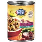 Nature's Recipe Healthy Skin Venison and Rice Recipe Cuts in Gravy Dog Food