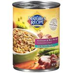 Nature's Recipe Healthy Skin Venison and Rice Recipe Homestyle Ground Dog Food