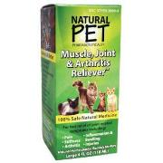 Natural Pet Muscle Joint Arthritis Cat 4Oz Best Price