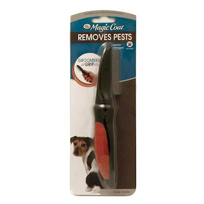 Four Paws Presents Four Paws Flea Comb Average Coats. There's Nothing Like the Feeling of Dread when you see a Sneaky Flea Making its Home on your Pet. Four Paws Flea Comb is an Excellent Tool for the Convenient and Cost Effective Removal of Fleas. Use this High-Quality Comb to Inspect and Remove Unwanted Pests from your Pet's Coat. When you Use the Comb, the Fine Prongs will Separate the Fur and Allow you to see and Remove Fleas, Ticks, and Nits. The Comb is Free of Harsh Chemicals and Medications, so you can Use it Every Day. Four Paws Flea Comb can also be Used to Remove Uncomfortable Tangles and Shedding Hair Making it a Versatile and Invaluable Addition to your Grooming Kit. [10133]