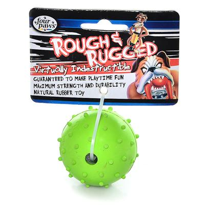 Four Paws Presents 4 Paws Rubber Pimple Ball 2''. Four Paws Rubber Pimple Ball is a Fun Toy for Dogs that would Keep them Busy all Day, while Ensuring Good Oral Health. [10176]