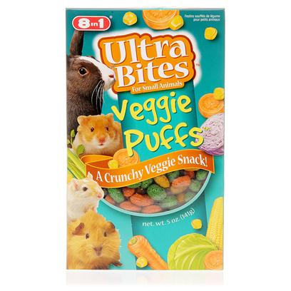 8 in 1 Presents 8 In1 Small Animal Puffs 5oz. These Snacks for Small Animals will be Readily Accepted by all Types of Small Animals. Great for Hamsters, Gerbils, Rabbits and Guinea Pigs. [10272]