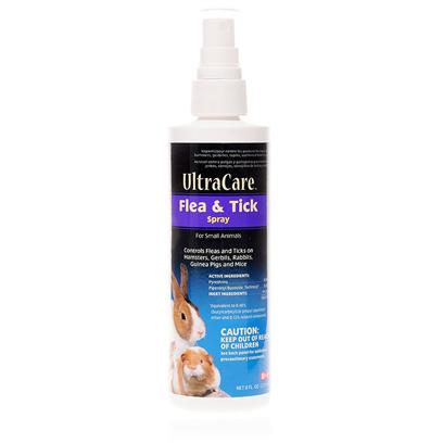 8 in 1 Presents 8 In1 Small Animal Flea and Tick Spray 8oz. Flea and Tick Infestations are Unfortunately not Limited to Dogs and Cats. Small Pets Such as Hamsters, Mice, Rabbits, Gerbils and Guinea Pigs can also Fall Prey to these Disease-Spreading Pests. However, Traditional Flea and Tick Treatments for Dogs or Cats may be Too Harsh for Smaller Pets.8 in 1 Small Animal Flea and Tick Spray Provides Owners of Small Pets with an Easy and Reliable Way to Protect their Small Animals from the Health Risks and Discomfort Associated with Fleas and Ticks. 8 in 1 Small Animal Flea and Tick Spray is Simple and Safe to Use. This Product will not only Eliminate Existing Fleas and Ticks but, with Regular Use, will Prevent New Infestations. Your Hamster, Mouse, Rabbit, Gerbil or Guinea Pig will Thank you for Keeping them Healthy and Comfortable. [10274]