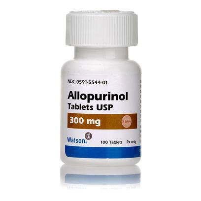 Buy Allopurinol 300mg Per Tablet Allopurinol is a Fast-Acting Prescription Oral Tablet, Intended to Prevent and Dissolve Urate Bladder Stones. Allopurinol is a Xanthine Oxidase Inhibitor, which Means it Inhibits the Production of Uric Acid, Preventing the Build Up of the Crystals in the Urine that Cause Bladder and Kidney Stones. Allopurinol Works by Preventing the Conversion of Protein Purines to Uric Acid. While Allopurinol Prevents Bladder and Kidney Stones, it can also Dissolve Stones that have Already Formed, and also Treats Infection Due to the Blood Parasite Leishmania. Read the Full Allopurinol Medication Guide . [10292]