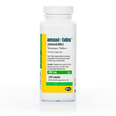 Buy Amoxicillin for Dogs products including Clavamox 250mg Per Tablet, Clavamox 125mg Per Tablet, Amoxi-Tabs 100mg Per Tablet, Amoxi-Tabs 150mg Per Tablet, Amoxi-Tabs 200mg Per Tablet, Amoxi-Tabs 400mg Per Tablet, Amoxi-Tabs 50mg Per Tablet, Clavamox 375mg Per Tablet, Clavamox 62.5mg Per Tablet Category:Antibiotic Price: from $0.28