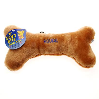 Petmate Presents Booda Plush Bone 10.5'. Ever Had Issues with your Dog Chewing on Furniture or Even Shoes? There is a Solution Booda Plush Bone, a Soft and Plush Biting Toy. It is Specially Constructed from Machine Washable Synthetic Fabric. This Material Actually Promotes Dental Health by Helping Fight Both Plaque and Tarter. Besides Distracting Small Puppies from Chewing on Household Items, it also Helps Soothe their Gums and Entertain Them. The Booda Plush Bone is Made in a Shape of a Bone, so that it Seems Like the Real Thing to your Pet Companion. The Booda Plush Bone Comes in a Variety of Colors and Patterns. The Plush Bone is Affordable and Within the Budget of Most any Pet Owner. It is Time to Decide if this Pet Product is Good for you -- And your Pet! [10422]