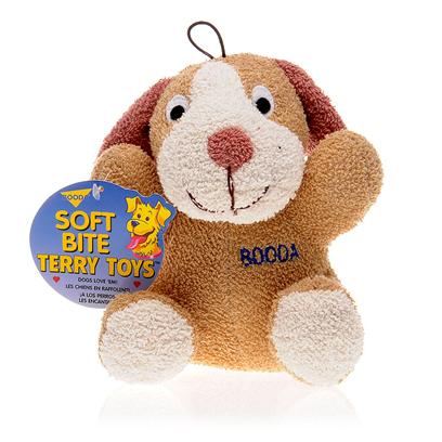 Petmate Presents Booda Terry Cloth Dog 7.5' - (Large). You Dog will Surely Love Playing with this Soft Durable Terry Cloth Dog. These Toys are Great for Teething Puppies and also Good for Adult Dogs to Tug or Fetch. They also Provide Great Entertainment for your Puppy and Deters Destructive Behavior. It Contains no Plastic Pieces for your Dog to Chew off and Swallow, and Hence Makes a Great Companion Toy for Dogs. [10453]