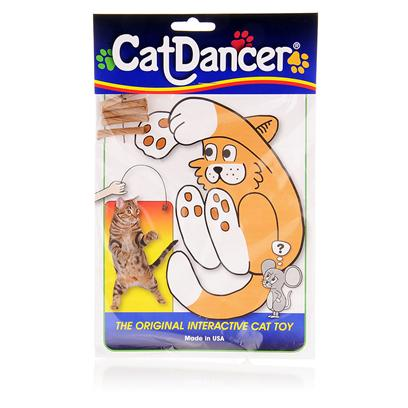 Cat Dancer Presents Cat Dancer Wire Dangler Toy. Is an Interactive, Tried and Tested Toy Guaranteed to Entertain for Hours. The Design is Simple, but Cats Love the Endless Action the Steel Wires Provide. The Toy is Made of 30 Inches of Spring Steel Wire with Cardboard Paper Rolls at Each End. The Wire is Durable, Flexible and Holds its Shape no Matter what your Cat does with the Toy. Simply Hold the Cat Dancer [10479]